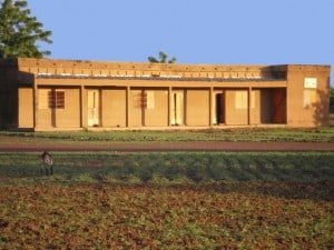 Un bâtiment officiel de Yaongo